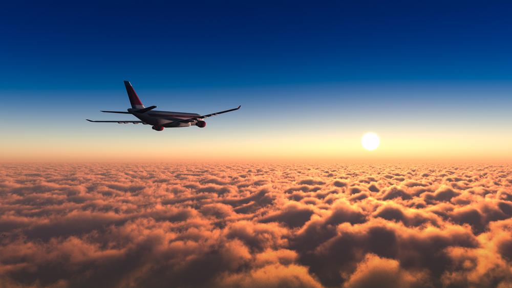 日の出フライト