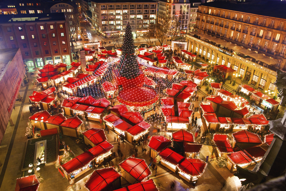 ドイツ ケルン聖堂のクリスマスマーケット