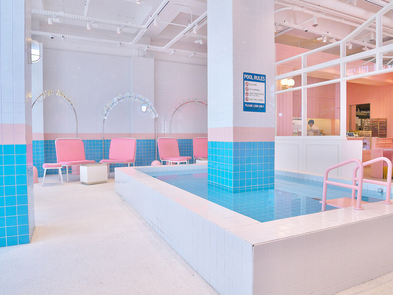 pink pool cafe01