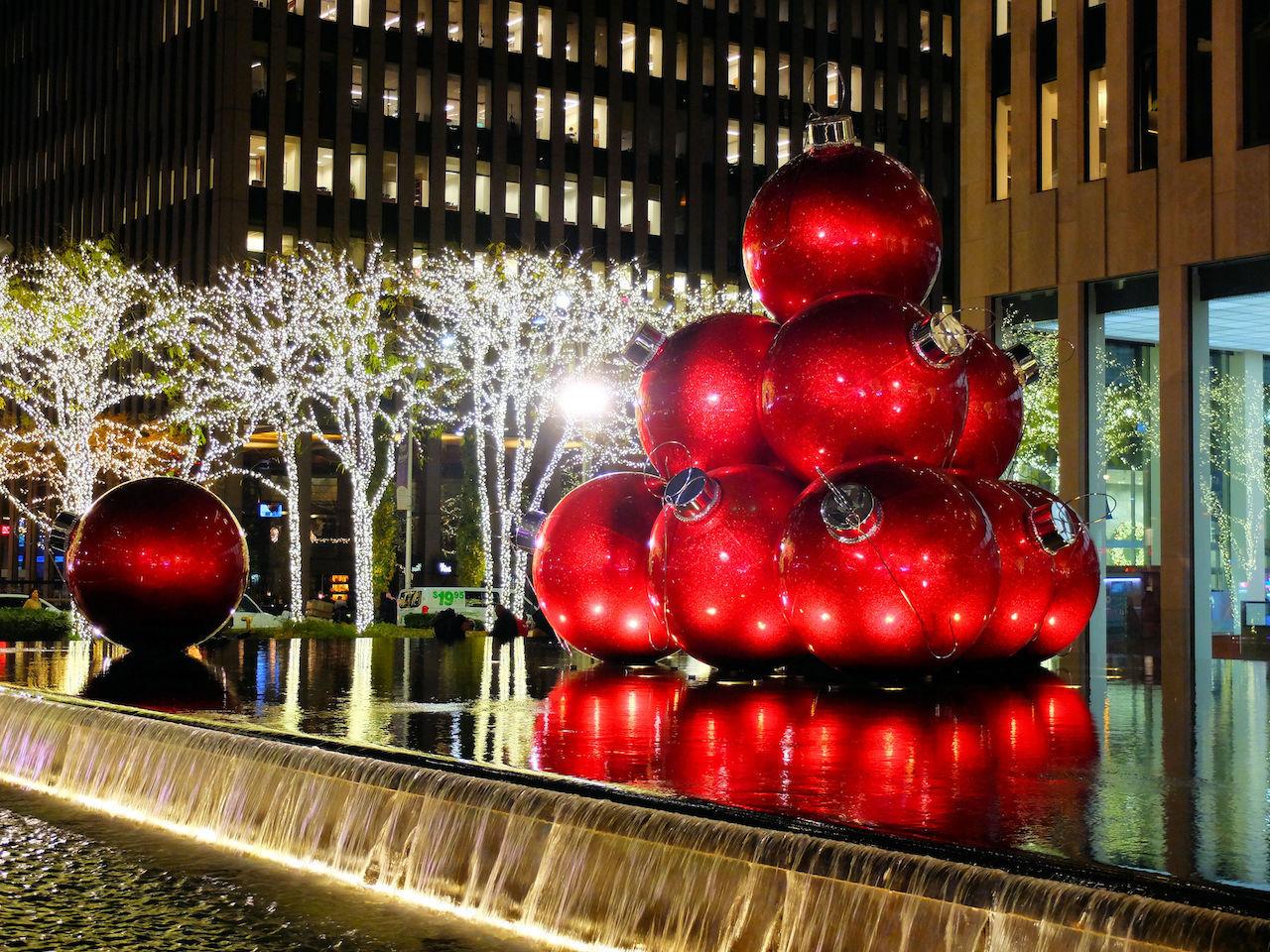 ニューヨークのクリスマスシーズン