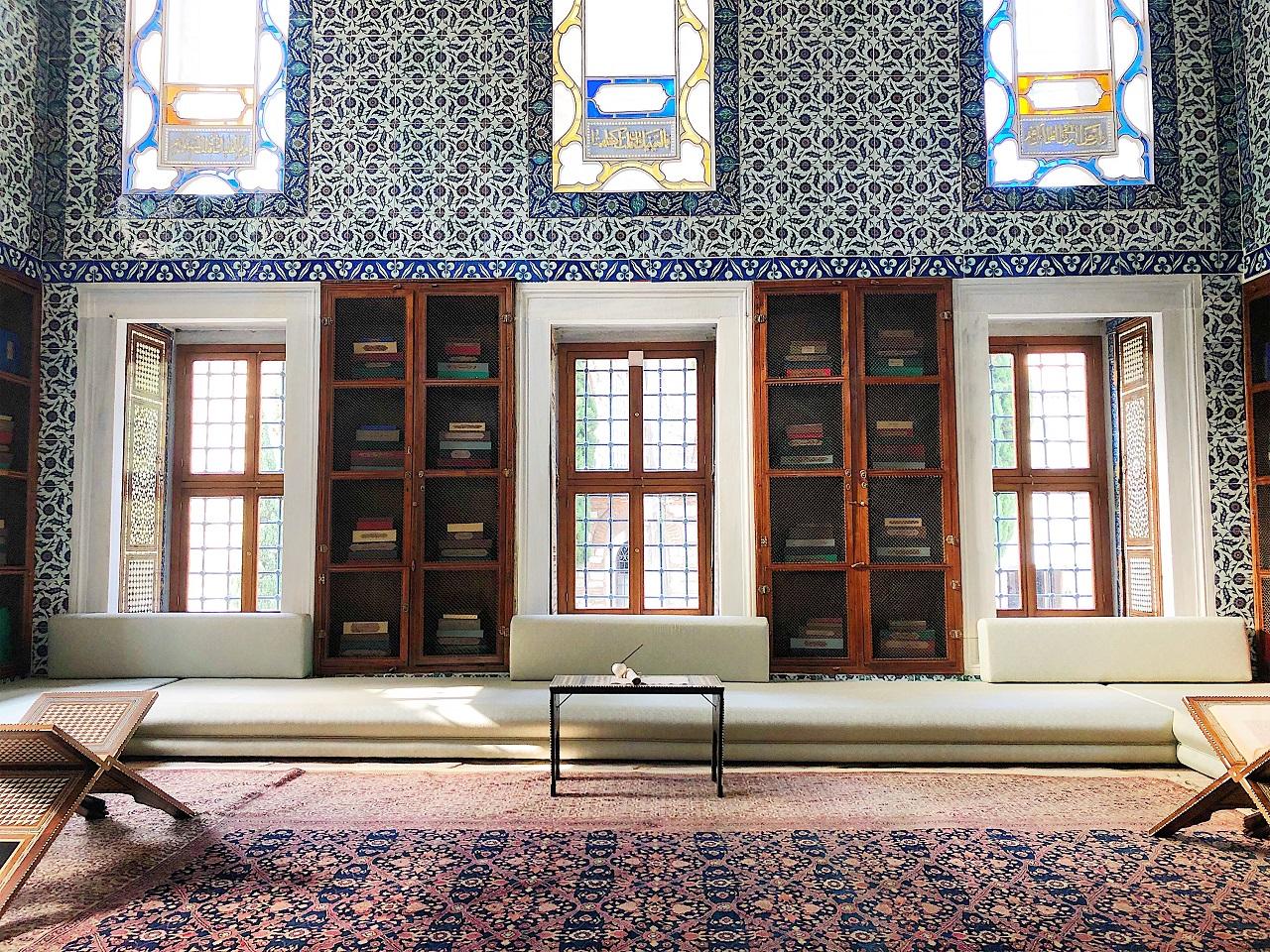 トプカプ宮殿 アフメト3世の書斎