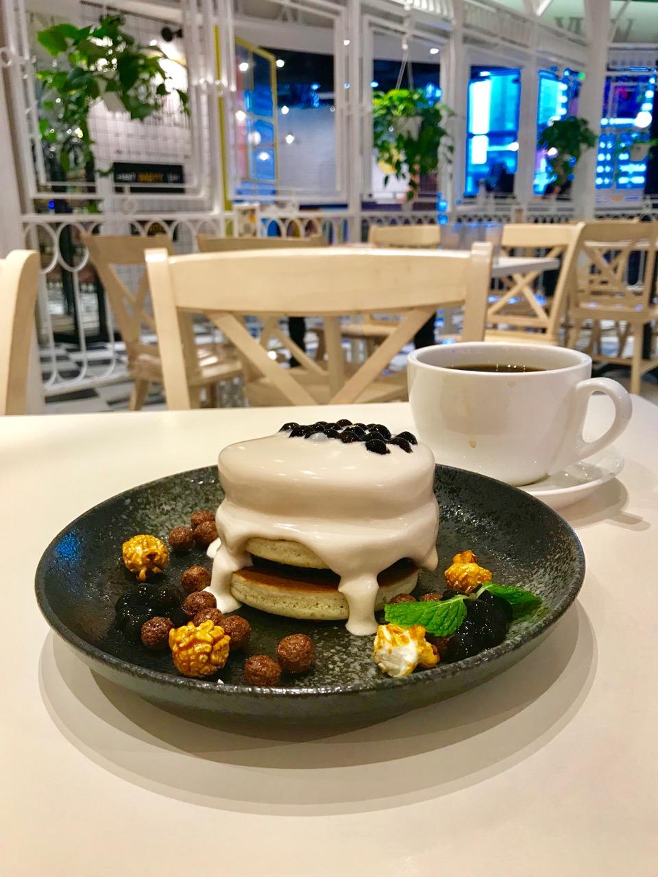 タピオカミルクティーパンケーキ