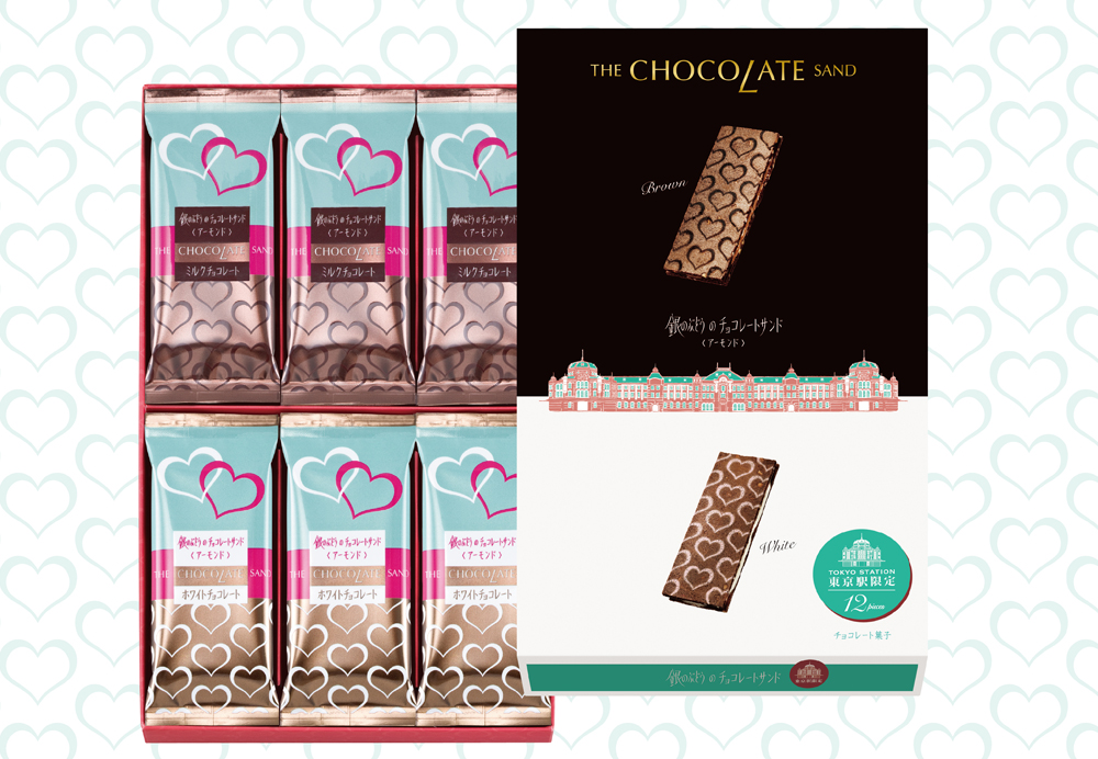 銀のぶどうのチョコレートサンド2