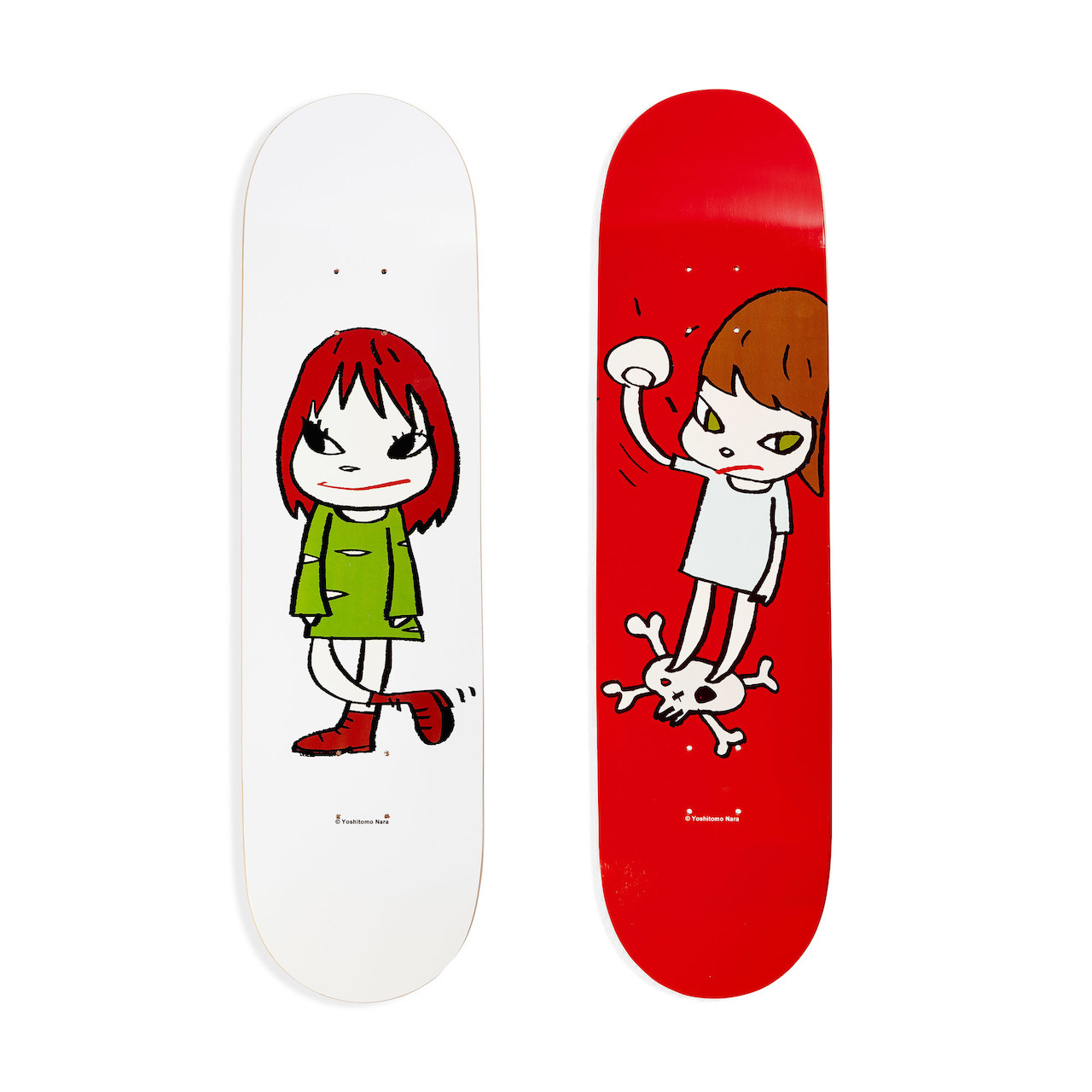 Yoshitomo Nara:スケートボード
