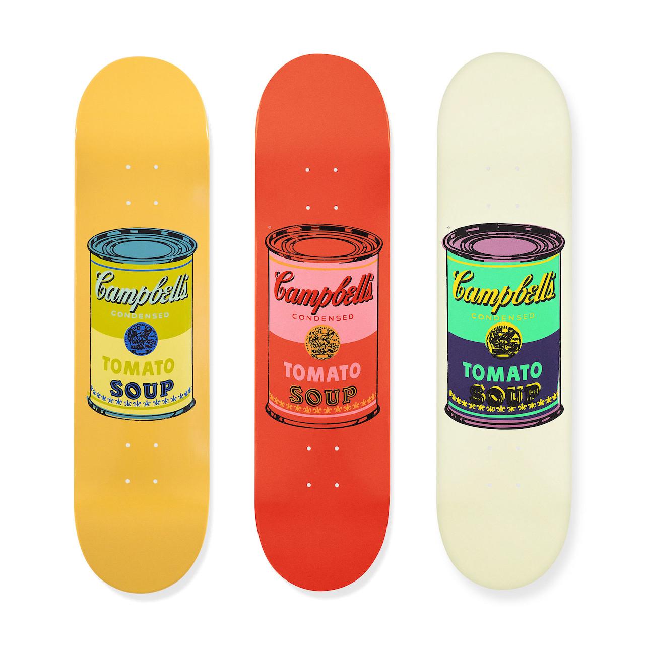 ウォーホル:スケートボード