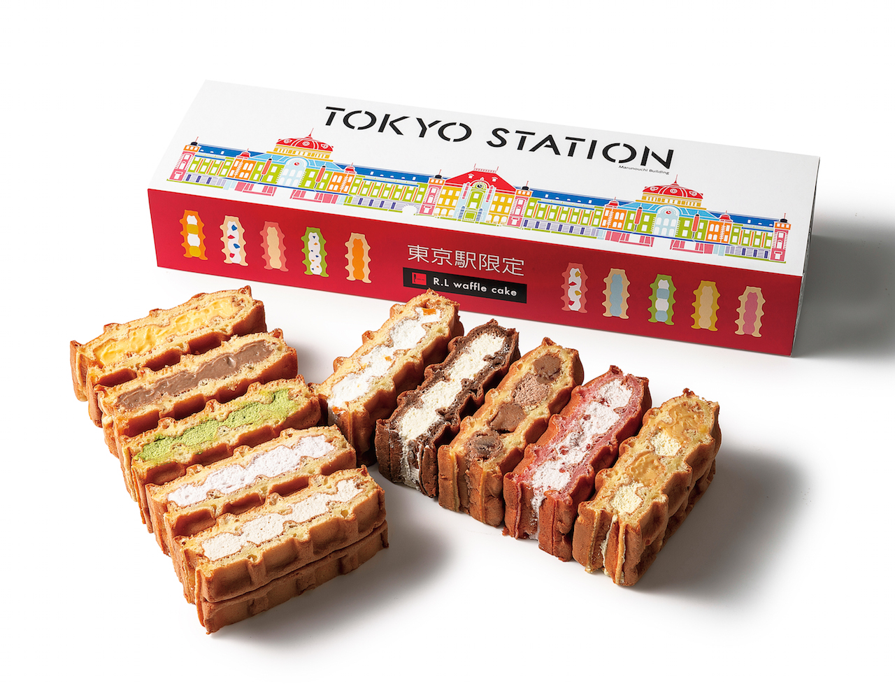 東京駅限定ワッフル(ワッフル・ケーキの店 R.L)