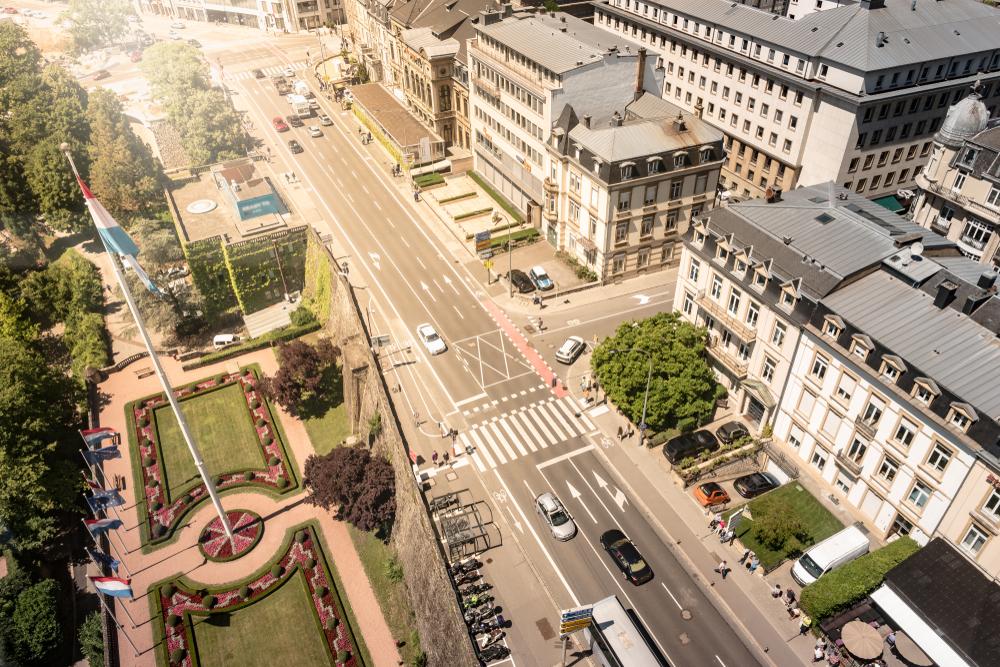 ルクセンブルク 市街