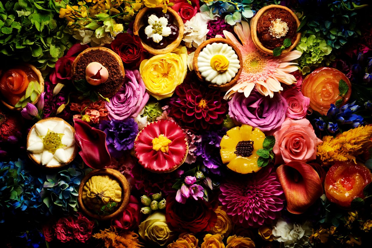 Flower Quiche 花と一緒に