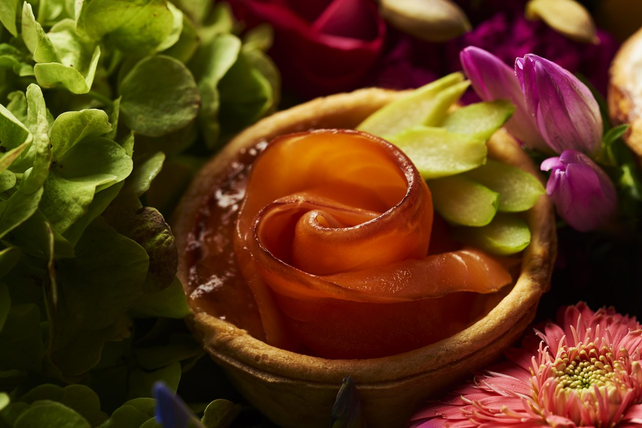 Flower Quiche サーモンローズ