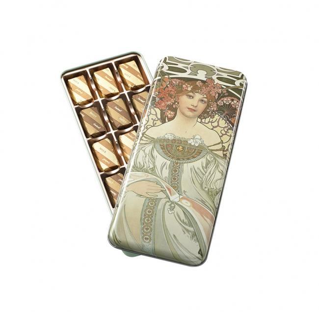 ミュシャ展 チョコレート