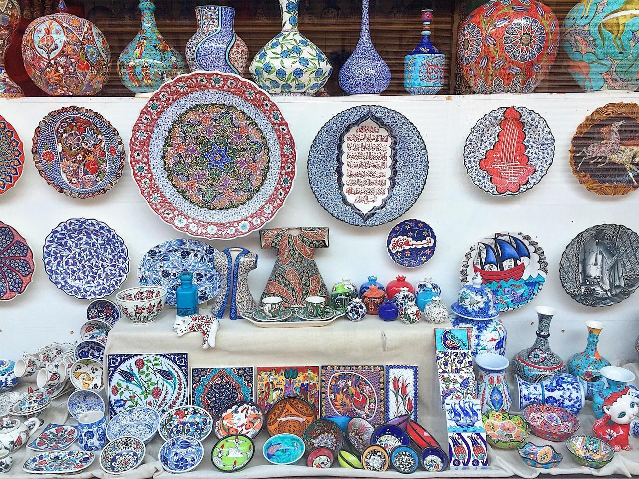 トルコの陶器作品
