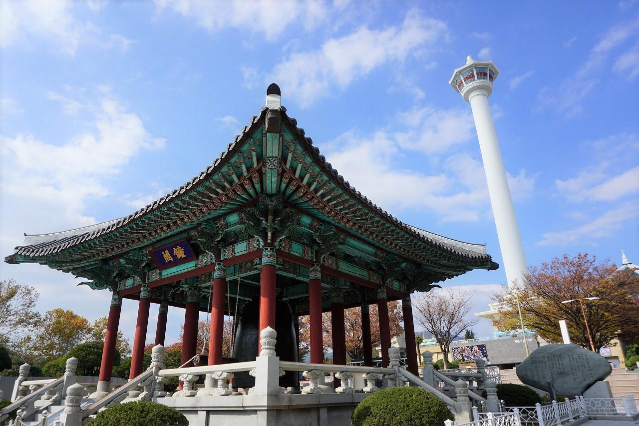 釜山タワー1