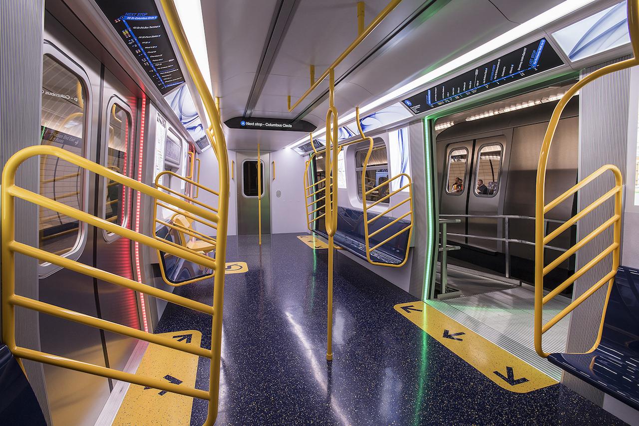 ニューヨーク地下鉄車両 川崎重工業製