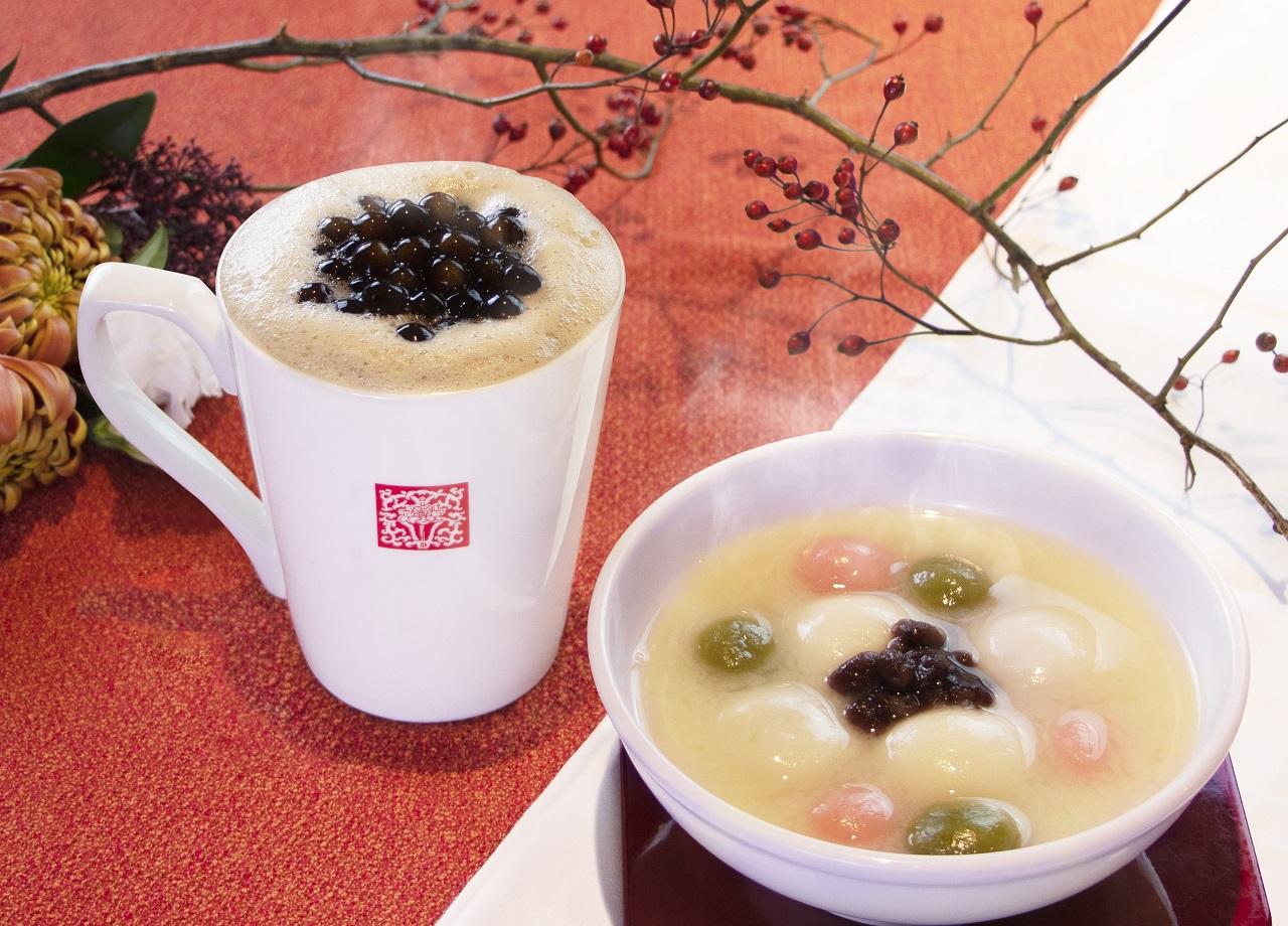 春水堂 タピオカ甘酒豆乳紅茶&甘酒湯圓