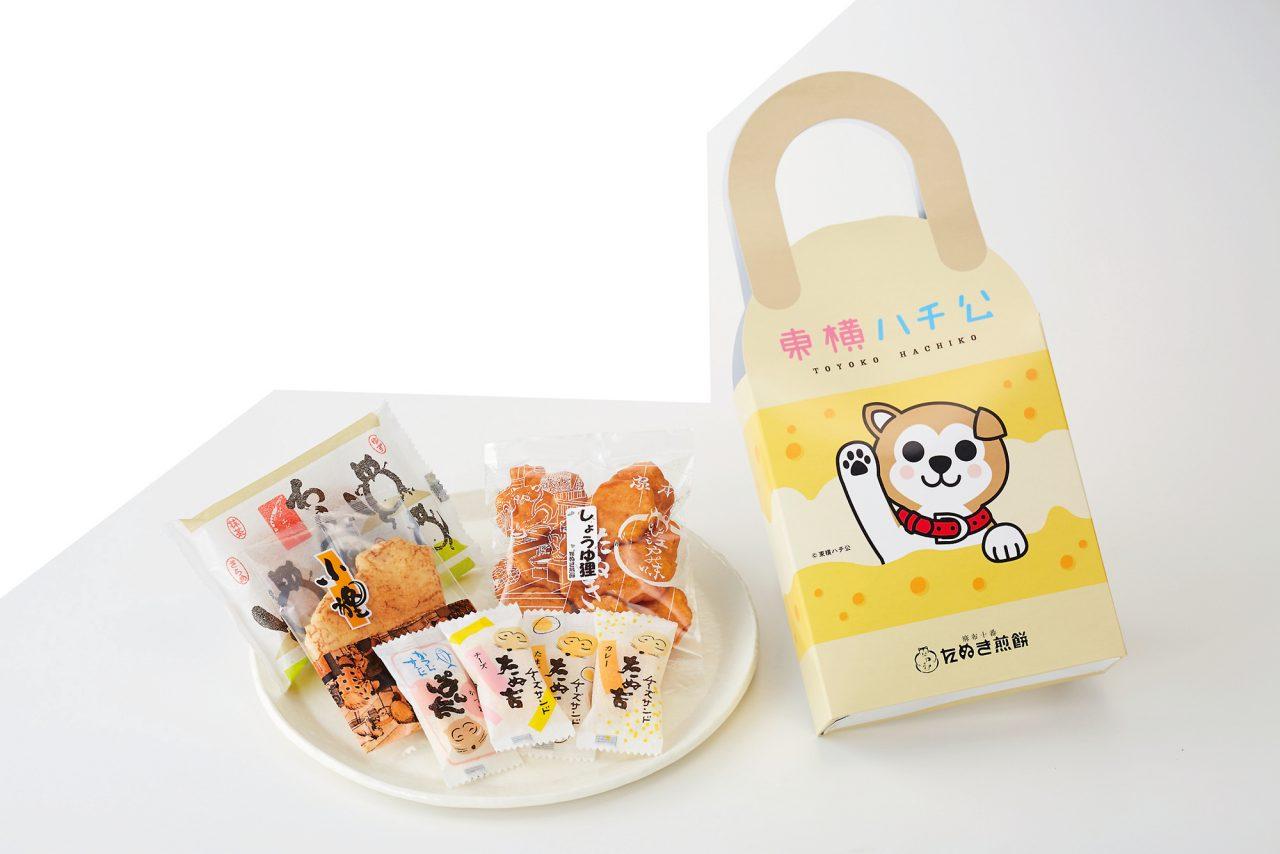 【たぬき煎餅】 東横ハチ公詰合せ