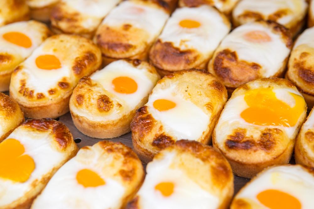 韓国 ケランパン(卵パン)