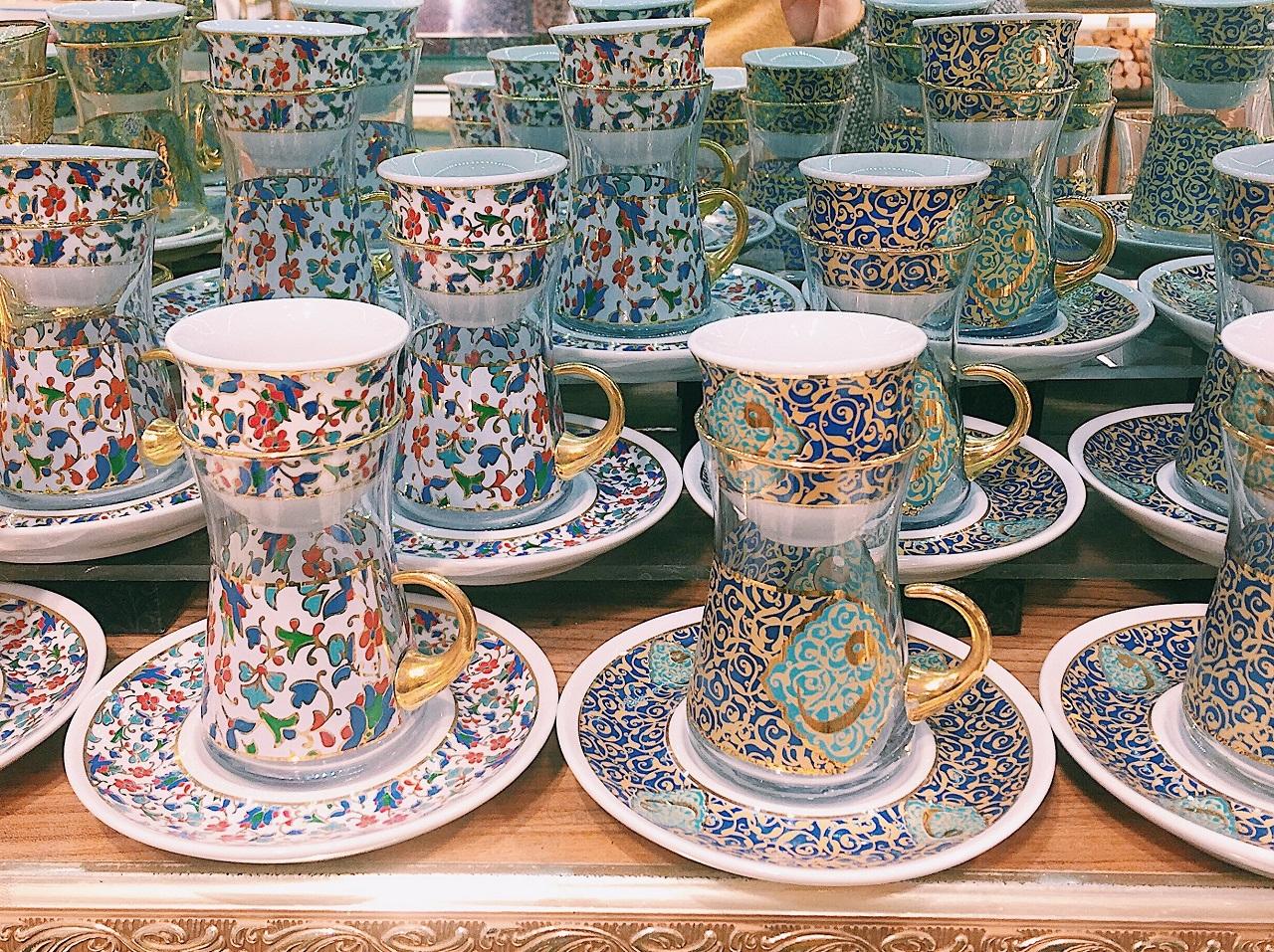 トルココーヒーのカップ