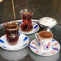 トルココーヒーとチャイ