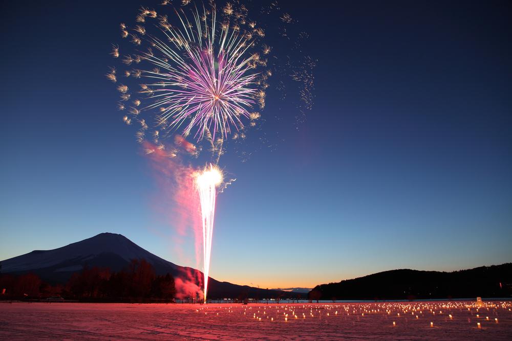 山中湖「ダイヤモンド富士ウィークス」
