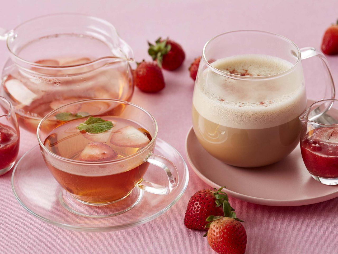 Afternoon Tea 苺フレーバーのお茶