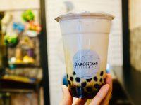小黒糖鮮奶珍珠(黒糖タピオカミルク)