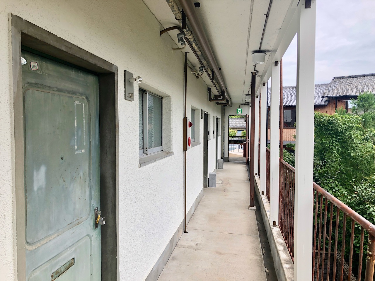 RC HOTEL 京都八坂客室前廊下