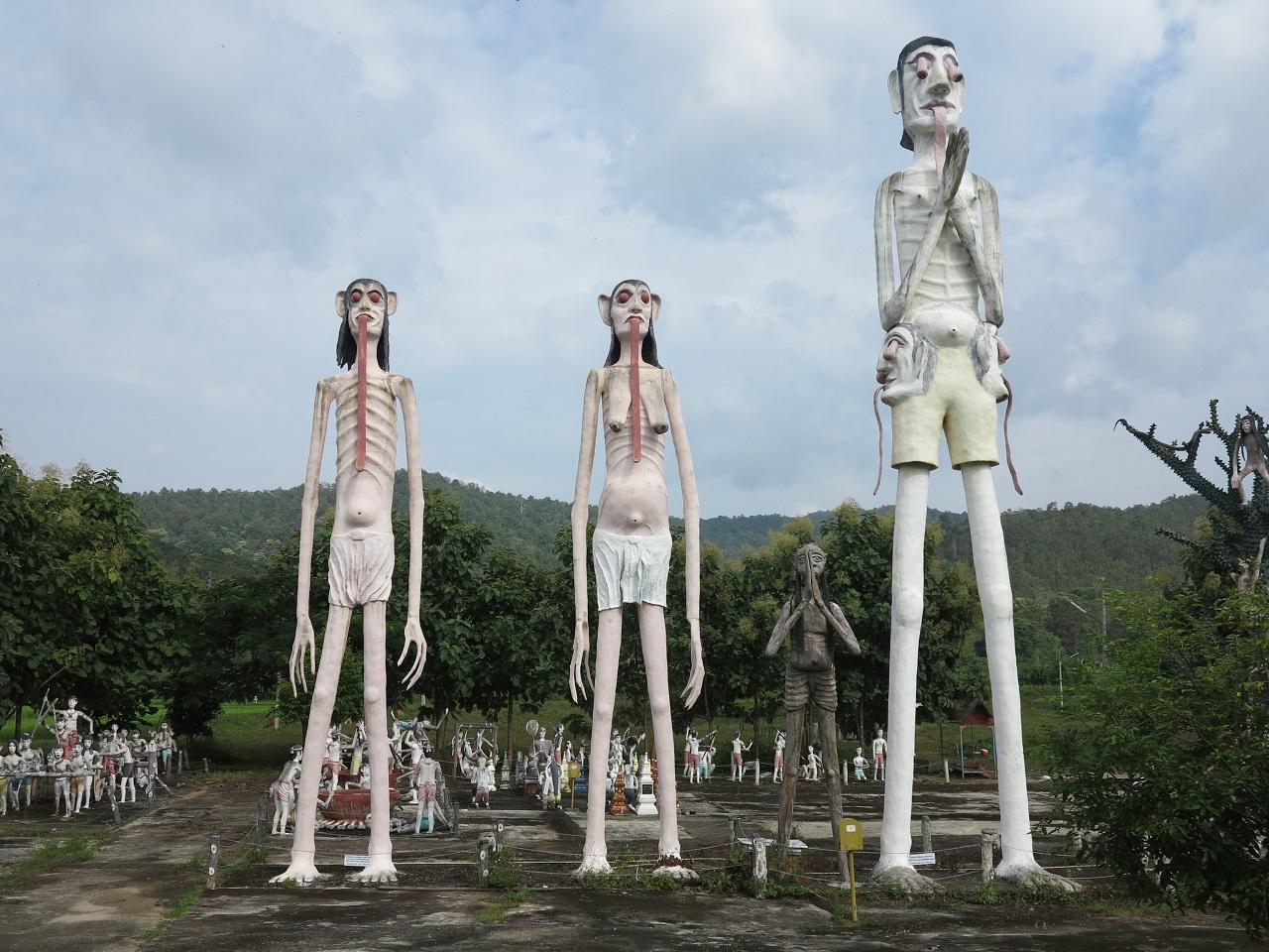 【連載】タイの地獄めぐり⑧ 巨大餓鬼 ―地獄寺のランドマーク―