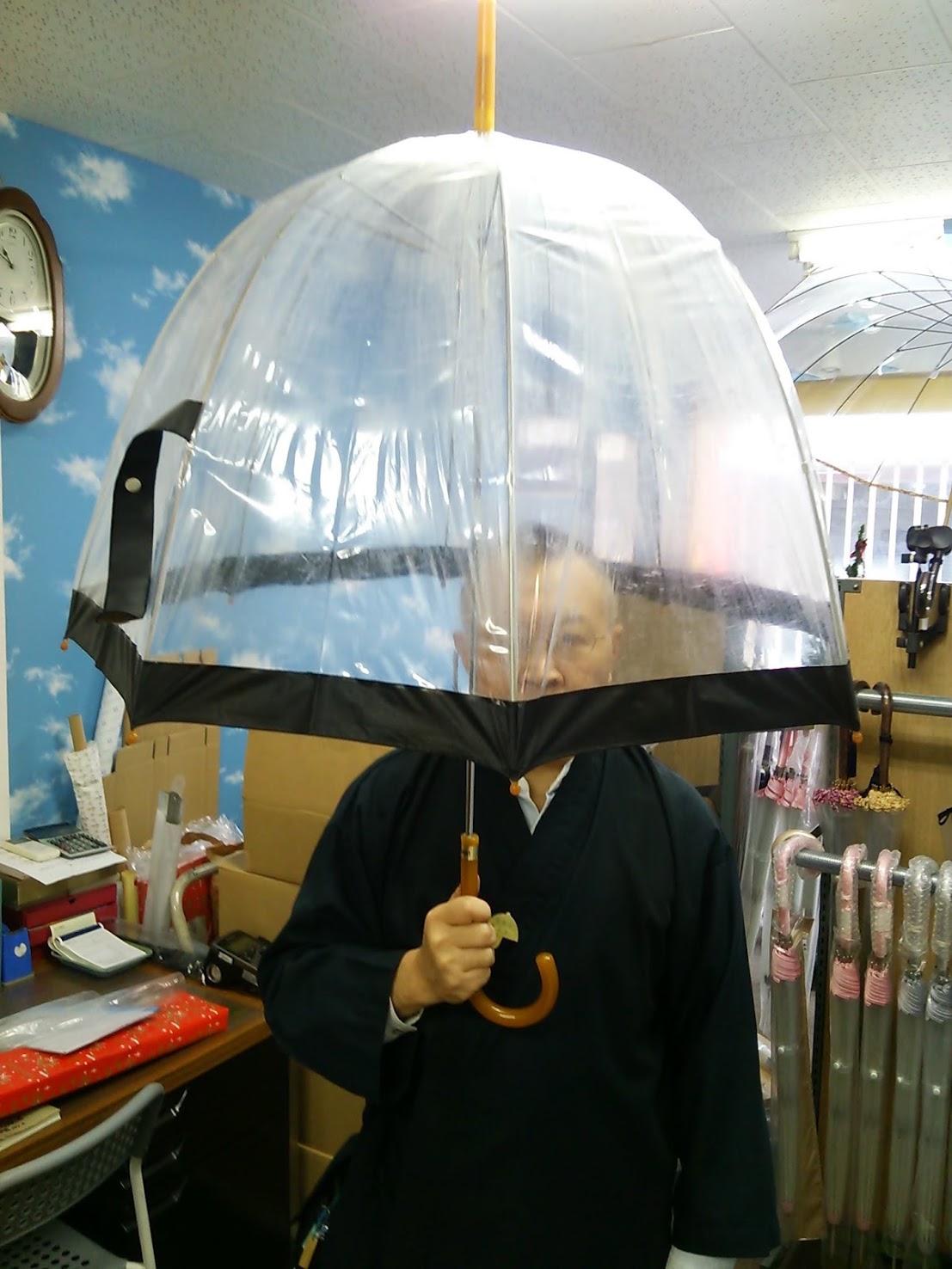 ホワイトローズ NYに輸出した傘(バードゲージ)