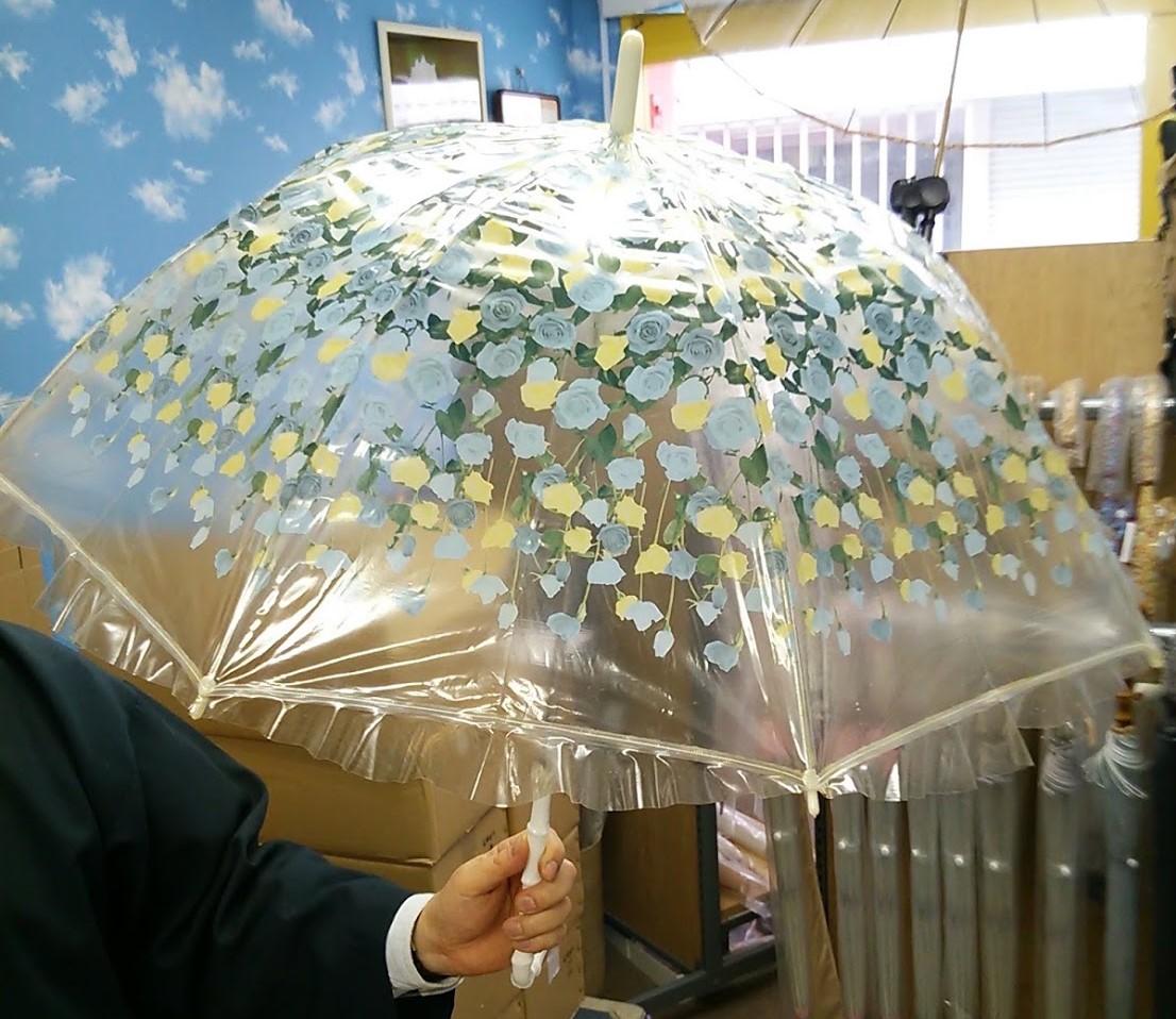 ホワイトローズ ホワイトローズの由来となった傘