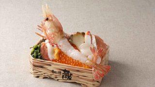 肴や一蓮 蔵 超特大ボタン海老海鮮十種盛り弁当