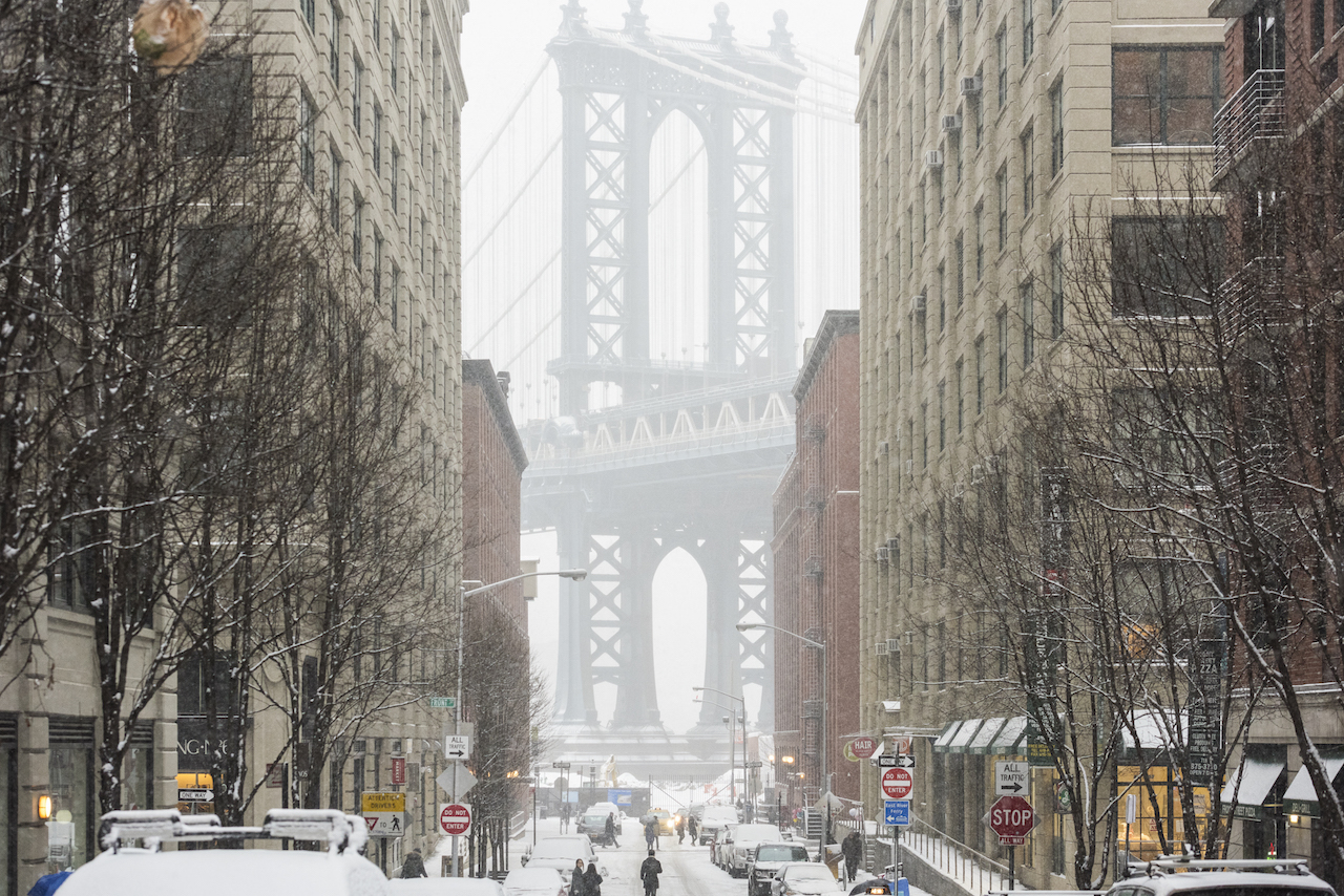 雪のダンボ ブルックリン