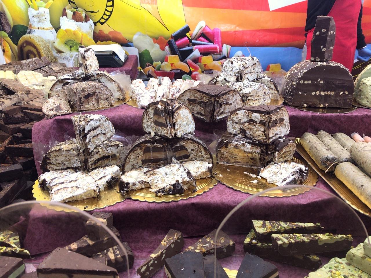 モディカのチョコレートヌガー