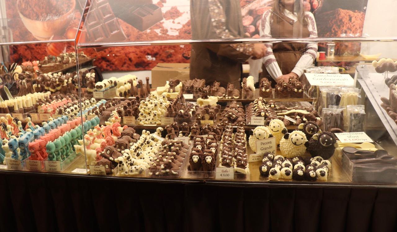 動物型のチョコレート