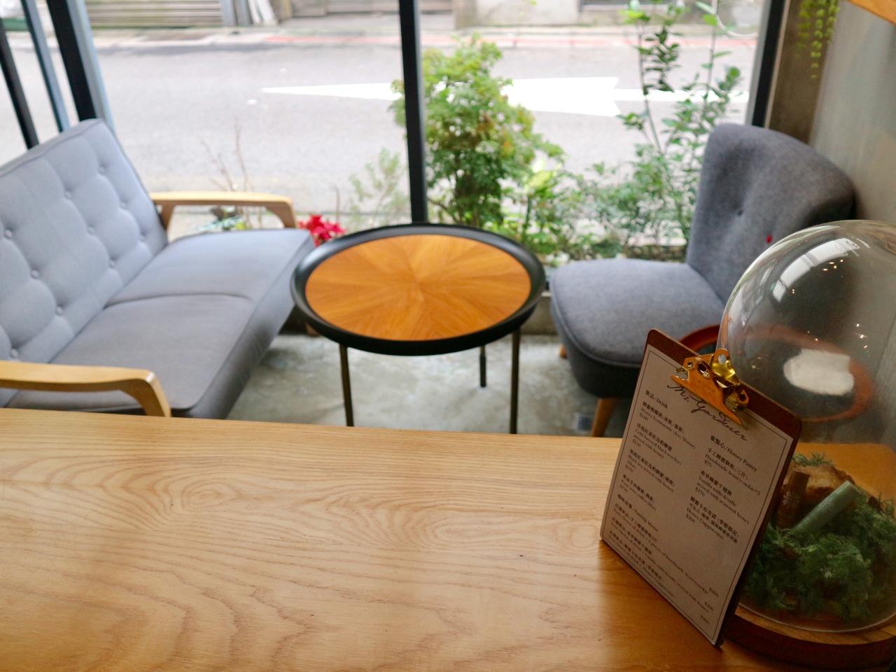 カフェスペースも
