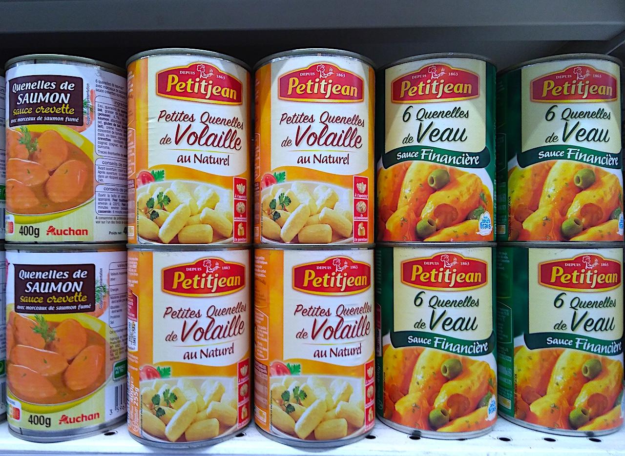 ふわふわダンプリング「クネル」の缶詰