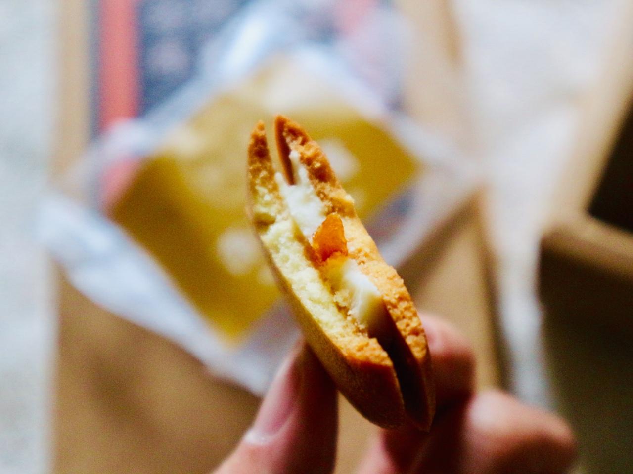 杏仁豆腐味断面図