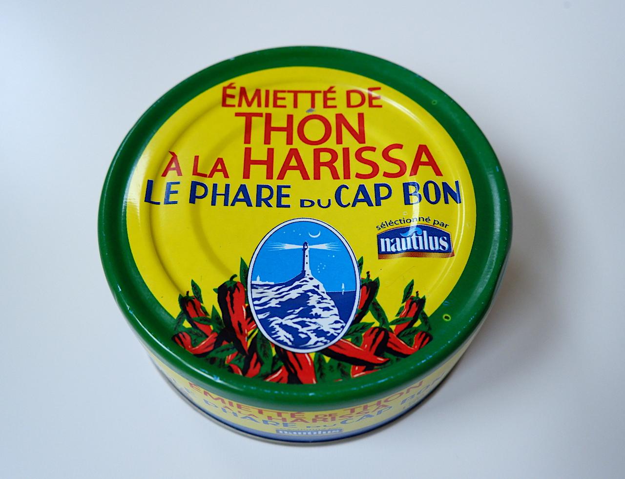 北アフリカの調味料「ハリッサ」入りのツナ缶