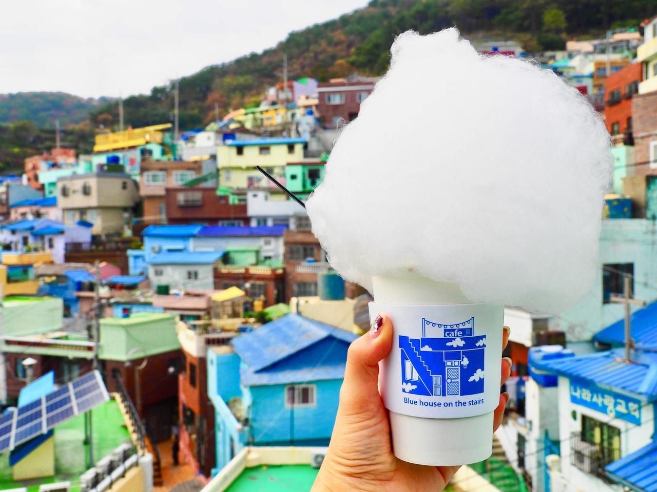韓国・釜山のアートの村「甘川文化村」