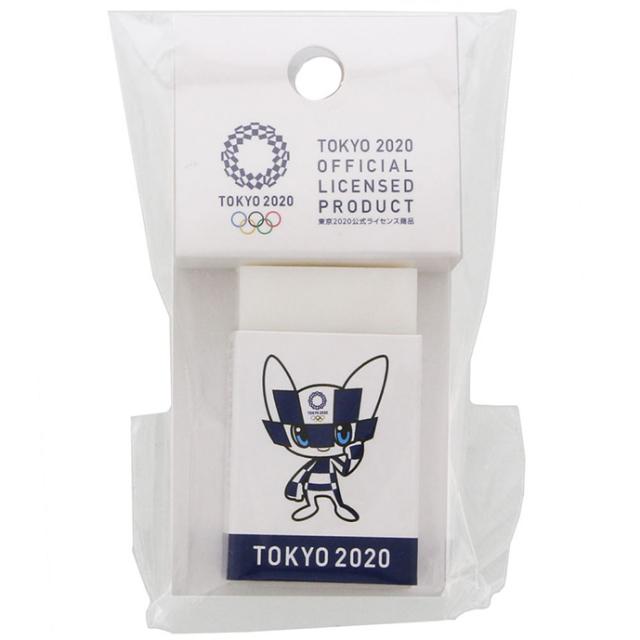 東京2020オフィシャルショップの消ゴム