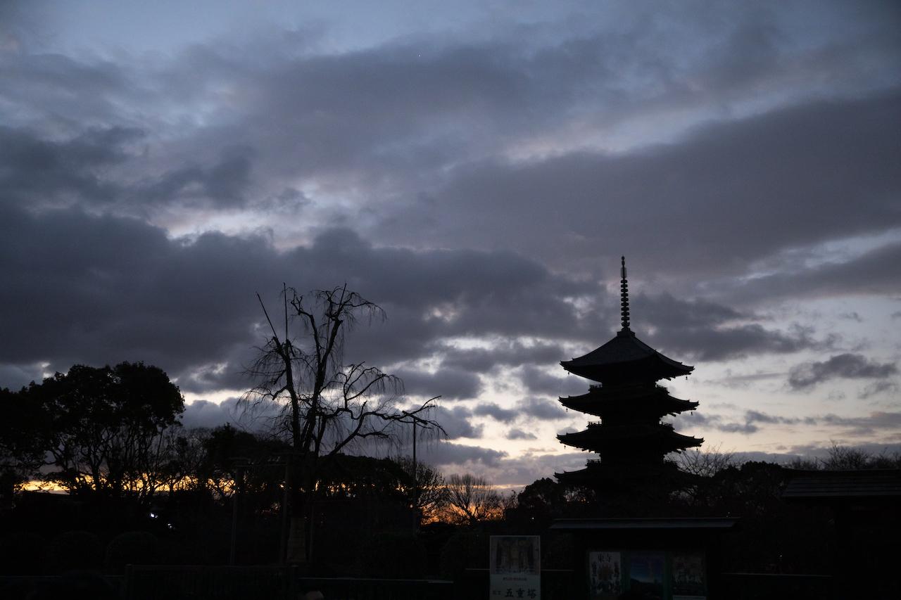 千年の都は夜明けが美しい。世界遺産「東寺」早朝特別拝観ツアー ...