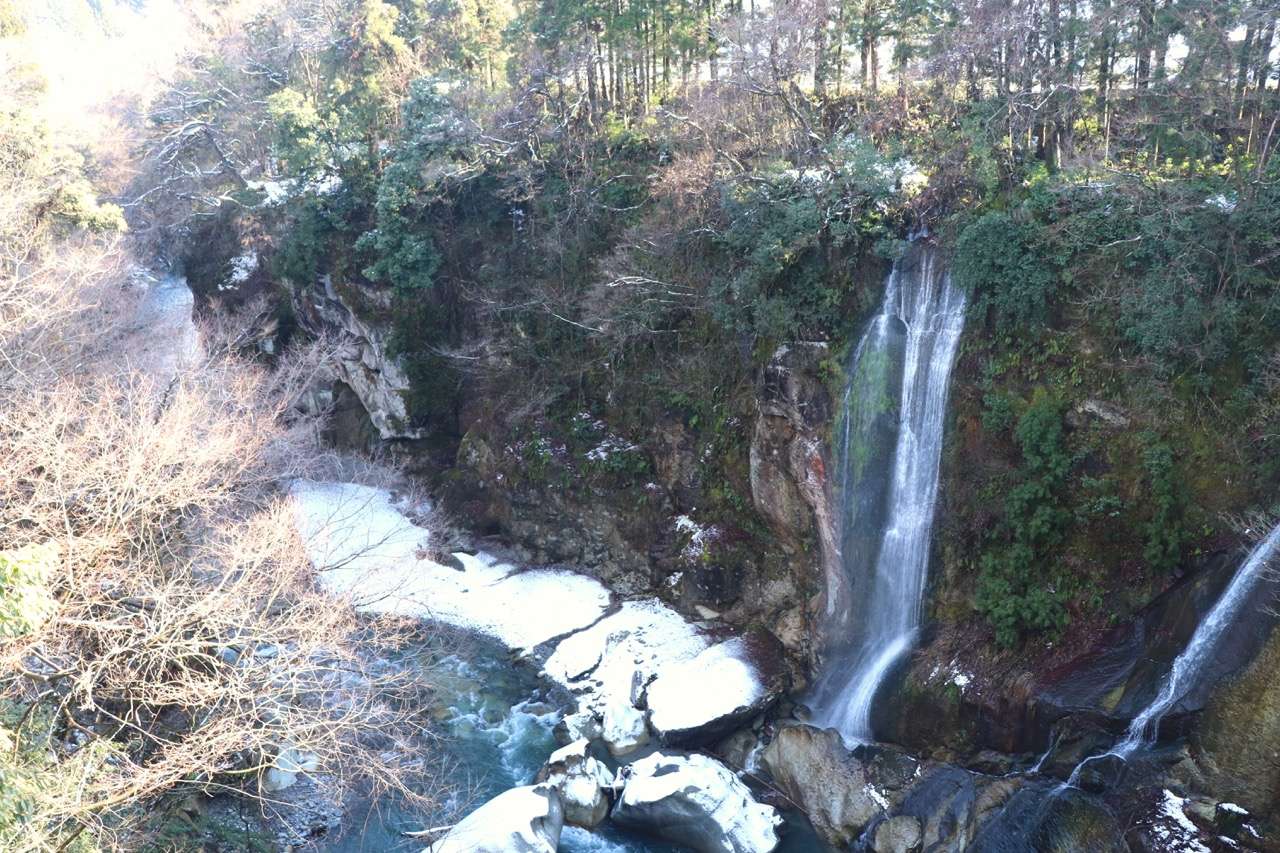 手取峡谷の景色
