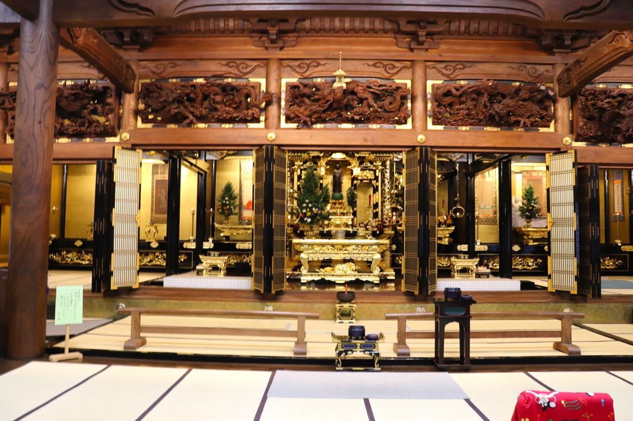 林西寺の本堂