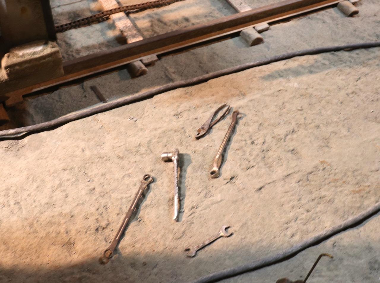 石を採掘する道具