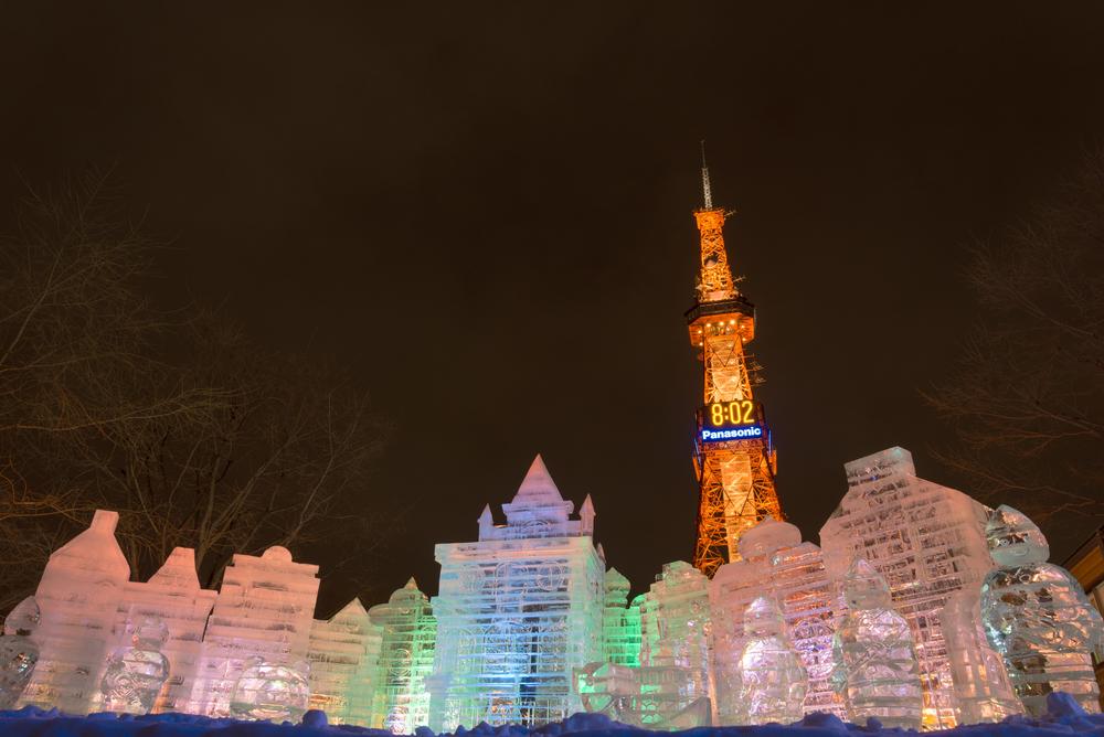 北海道札幌 さっぽろ雪まつり