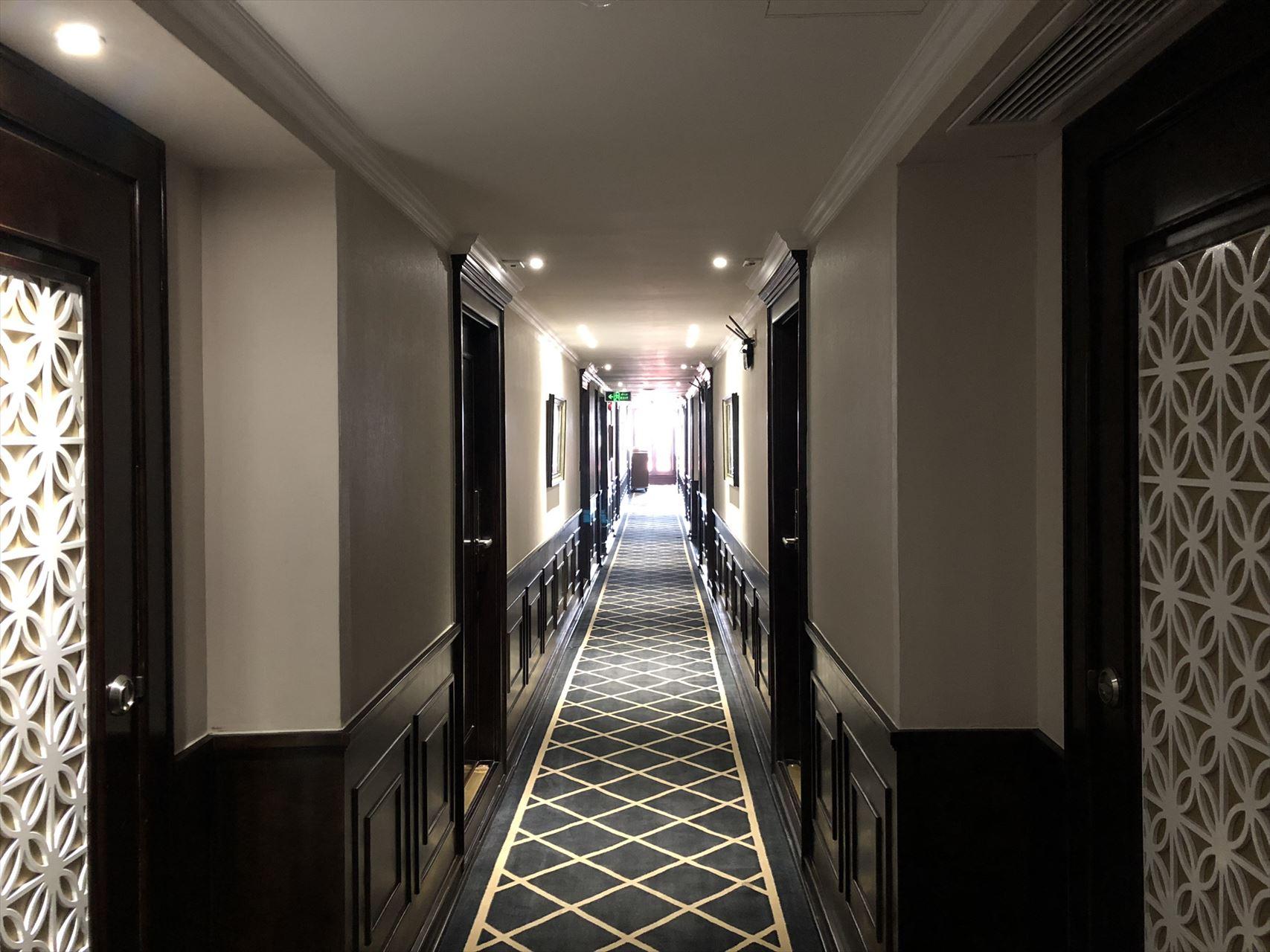 President Cruises 廊下