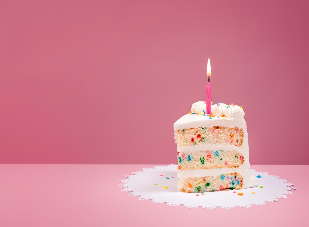 バースデーケーキ味ケーキ