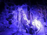 馬門岩 氷瀑