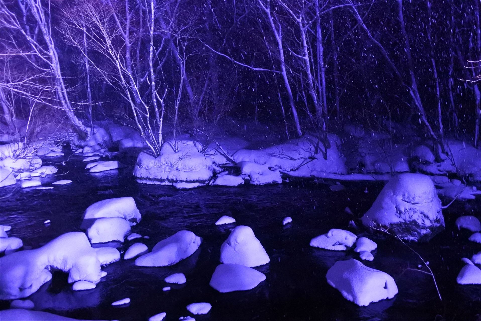 三乱の流れ 氷瀑
