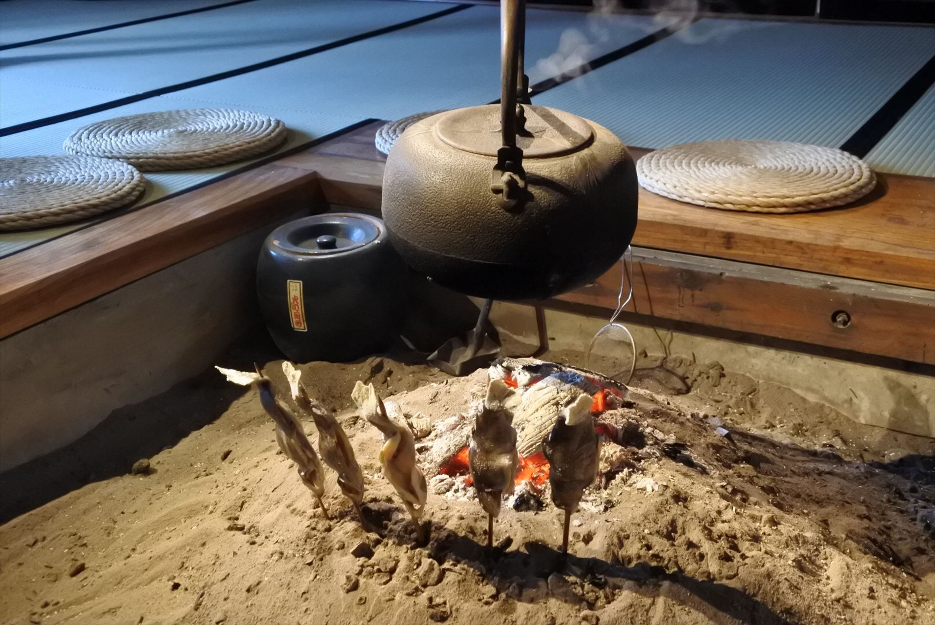 南部曲屋 囲炉裏