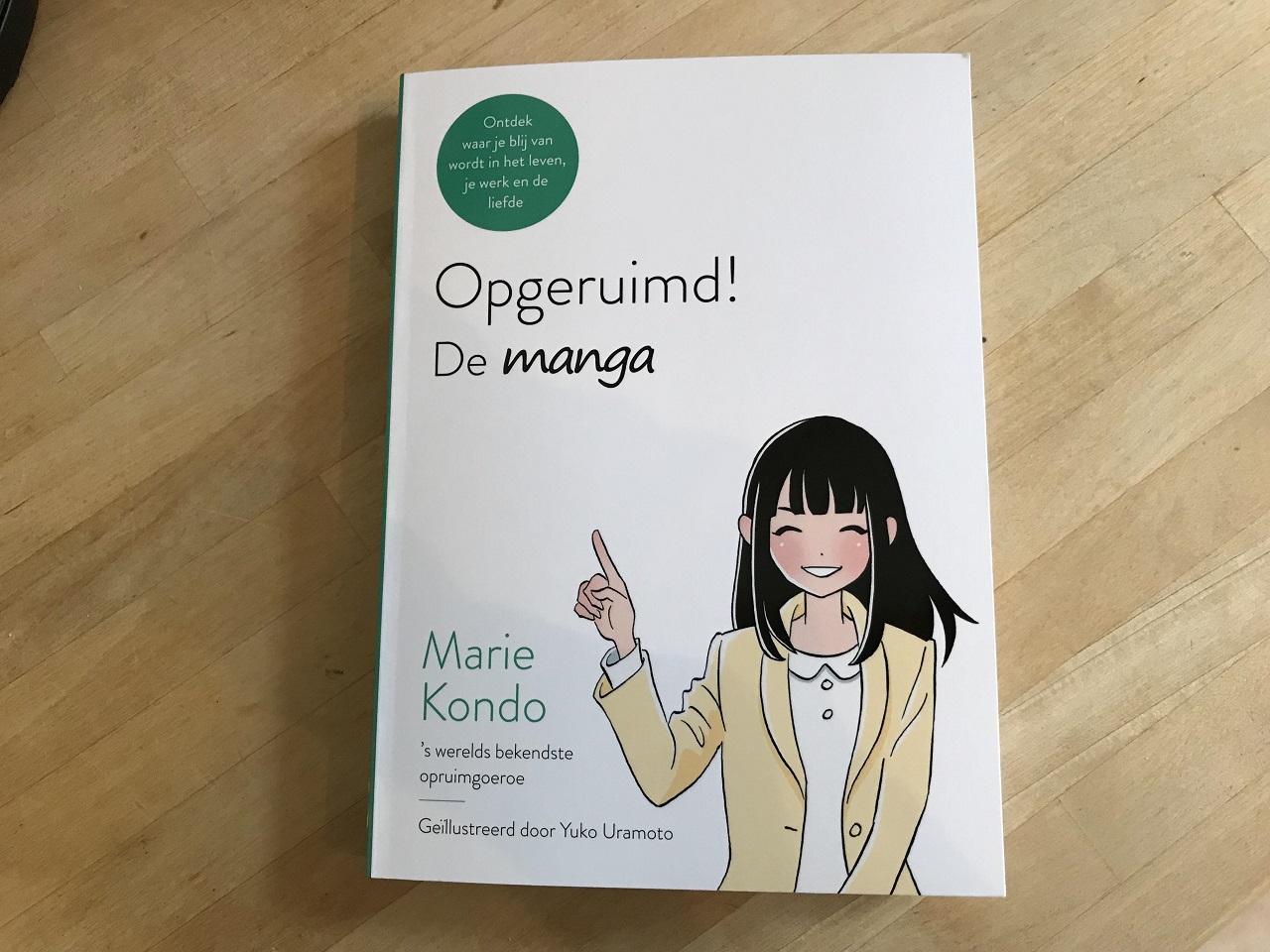 「マンガで読む人生がときめく片づけの魔法」オランダ語版